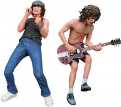 AC/DC 2-PK 7'' ACTION FIGURES