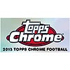 13 TOPPS CHROME FOOTBALL