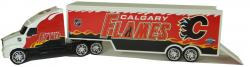 NHL 1/64 DIE CAST TRANSPORT TRUCK FLAMES
