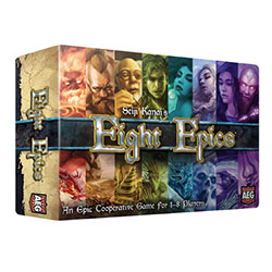 AEG5883-EIGHT EPICS CO-OP DICE GAME