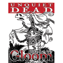 AG1355-GLOOM UNQUIET DEAD EXP 2ND ED