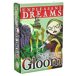 AG1331-CTHULHU GLOOM: UNPLEASANT DREAMS (EXPANSION)