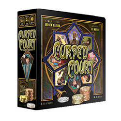 AG1400-CURSED COURT BOARD GAME