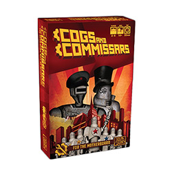 AG1430-COGS AND COMMISSARS CARD GAME
