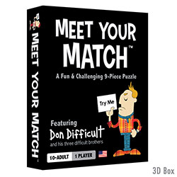 ATE18187-MEET YOUR MATCH PUZZLE GAME