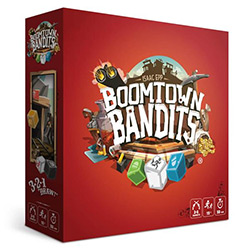 BGZ1220-BOOMTOWN BANDITS DICE GAME