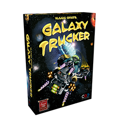 CGE00001-GALAXY TRUCKER BOARD GAME