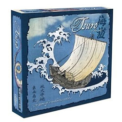 CLP119-TSURO OF THE SEAS BOARD GAME