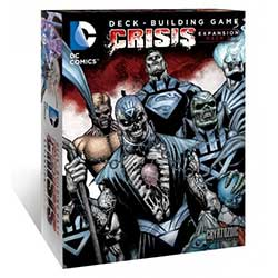 CRY01825-DC DECK-BUILDING GAME: CRISIS EXPANSION PACK #2