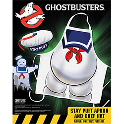 CRY01881-GHOSTBUSTERS PUFT APRON & HAT