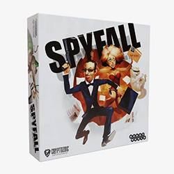 CRY01904-SPYFALL CARD GAME