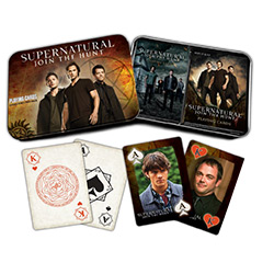 CRY02559-SUPERNATURAL PLAYING CARDS: COLLECTOR�S TWO-PACK