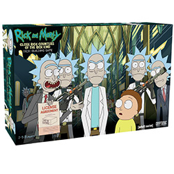 CRY02574-RICK & MORTY DECKBUILDING GAME
