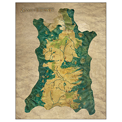 DHC3003012-GOT CLOTH MAP OF WESTEROS