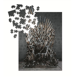 DHC3003471-GOT PUZZLE 1000PC IRON THRONE