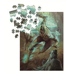 DHC3003770-WITCHER 3 PUZZLE CIRI & WOLVES