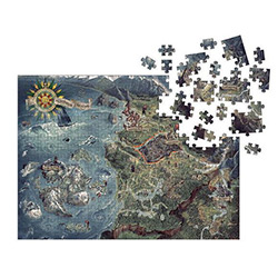 DHC3003990-WITCHER 3 PUZZLE WORLD MAP