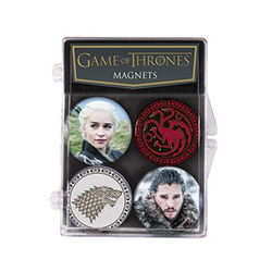 DHC3004134-GAME OF THRONES MAGNET SET #2 4PC