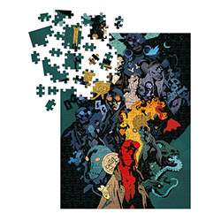 DHC3004534-HELLBOY UNIVERSE PUZZLE 1000PC
