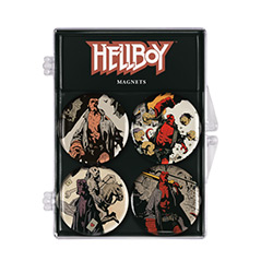 DHC3004964-HELLBOY MAGENT SET 4PC