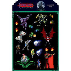 DHC3005726-CASTLEVANIA SYMPHONY OF THE NIGHT MAGNET SET