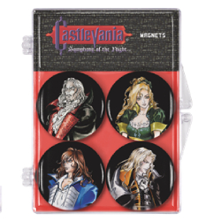 DHC3005727-CASTLEVANIA SYMPHONY OF THE NIGHT MAGNET 4PK