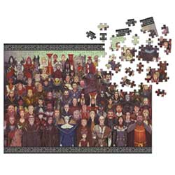 DHC3006916-DRAGON AGE 1000PC PUZZLE CAST OF THOUSANDS