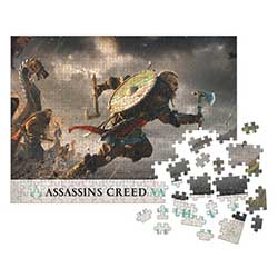 DHC3007693-ASSASSIN'S CREED PUZZLE 1000PC FORTRESS ASSAULT