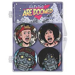 DHC3008252-BILL & TED MAGNETS 4PK