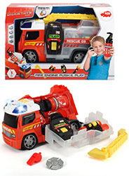 DIC30538-DICKIE FIRE TRUCK PUSH/PLAY