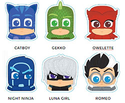 DYDTMLPJM-MICRO LIGHT PJ MASKS