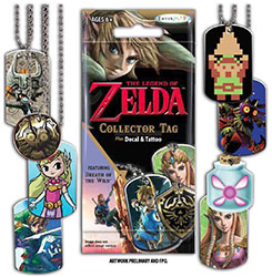 EPZEL17CT-17 ZELDA COLLECTORS TAGS