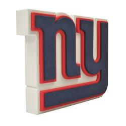 FHFFFLNYG-NFL FOAM 3D LOGO SIGN GIANTS
