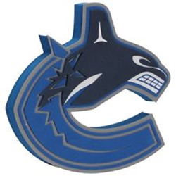FHHFFLVC-NHL FOAM 3D LOGO SIGN CANUCKS