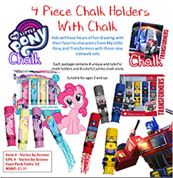 FOCMP25234PC-4 PC CHALK HOLDER - M.L.PONY
