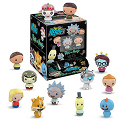 FU26208-PINT SIZE HEROES RICK & MORTY