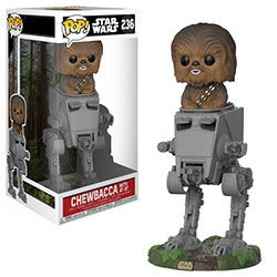 FU27023-POP DELUXE SW CHEWBACCA AT-ST