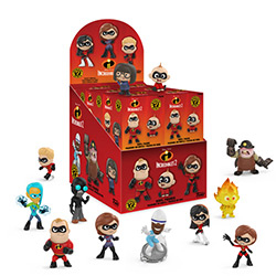 FU29196-MYSTERY MINIS INCREDIBLES 2