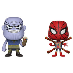 FU30932-VYNL THANOS & IRON SPIDER