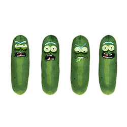 FU31442-PLUSH RICK & MORTY PICKLE RICK
