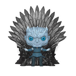 POP DELUXE GOT NIGHT KING ON THRONE