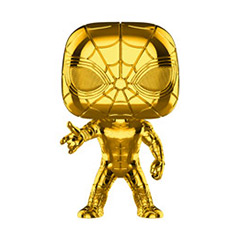 FU38482-POP MVL IRON SPIDER GOLD CHRME