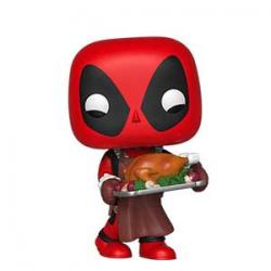 POP HOLIDAY MARVEL DEADPOOL W/ TURKEY