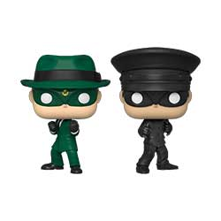 FU43357-POP GREEN HORNET 2PK