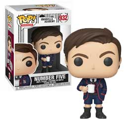 FU44514-POP UMBRELLA ACADEMY NO. FIVE