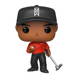 FU44715-POP GOLF TIGER WOODS RED SHIRT