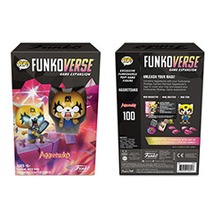 FU45891-FUNKOVERSE 1PK AGGRETSUKO 100 GAME EXPANSION