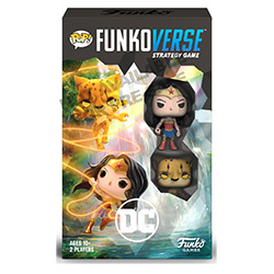 FUG45893-FUNKOVERSE DC WONDER WOMAN 102 2-PACK EXPANDALONE