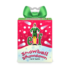 FUG48715-ELF SNOWBALL SHOWDOWN CARD GAME