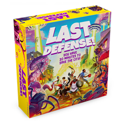 FUG48717-LAST DEFENSE! GAME